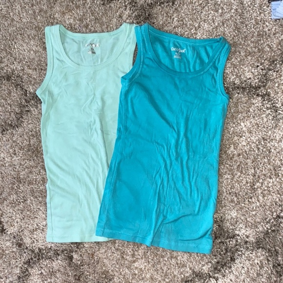 2 pack cat and jack tank tops
